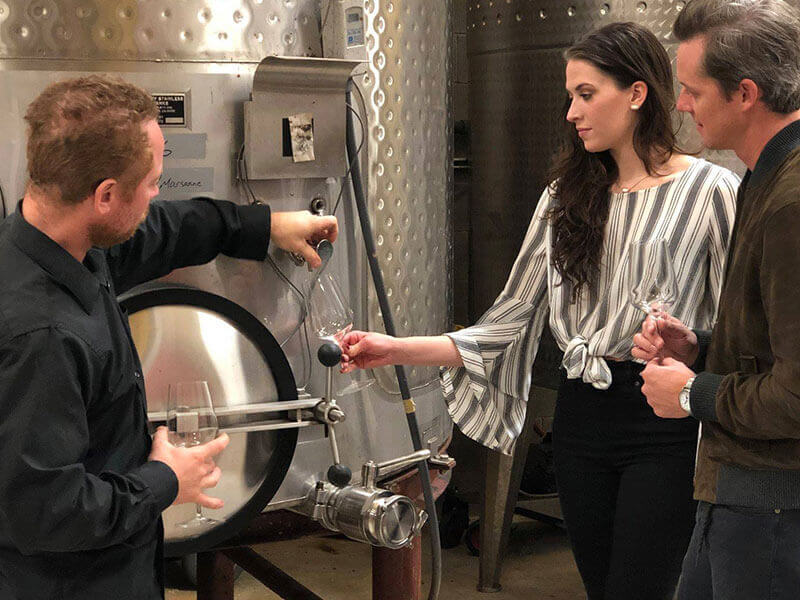 Hilmy Cellars Tour - Cellar Rat Wine Tours